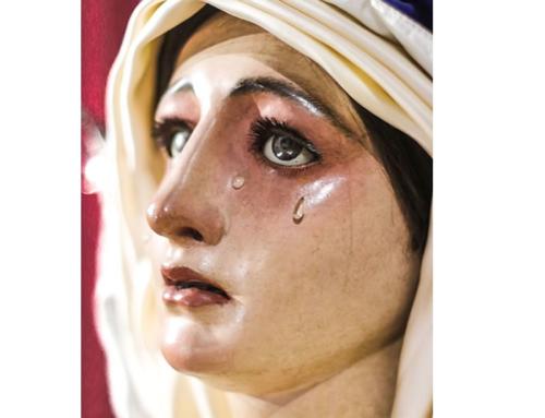 Veneración a Madre de Dios de la Palma