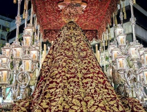 Aprobación de la restauración del manto de salida de Madre de Dios de la Palma