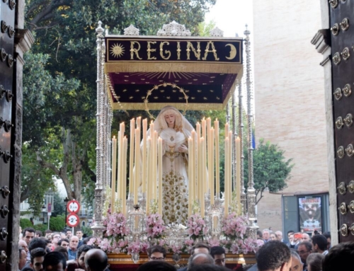 Recibimiento a la Virgen del Rosario de Montesión