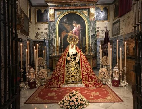 Aplazamiento de la veneración a Madre de Dios de la Palma