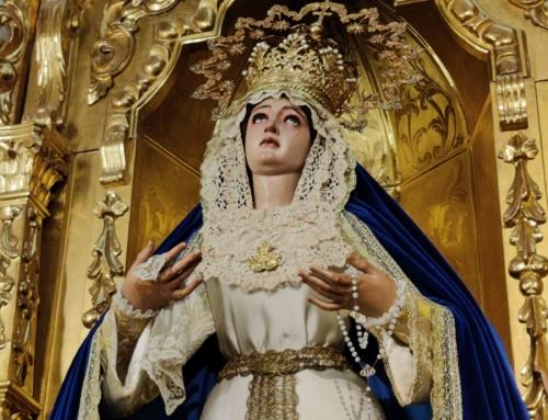 Madre de Dios de la Palma ya luce ataviada para el periodo estival