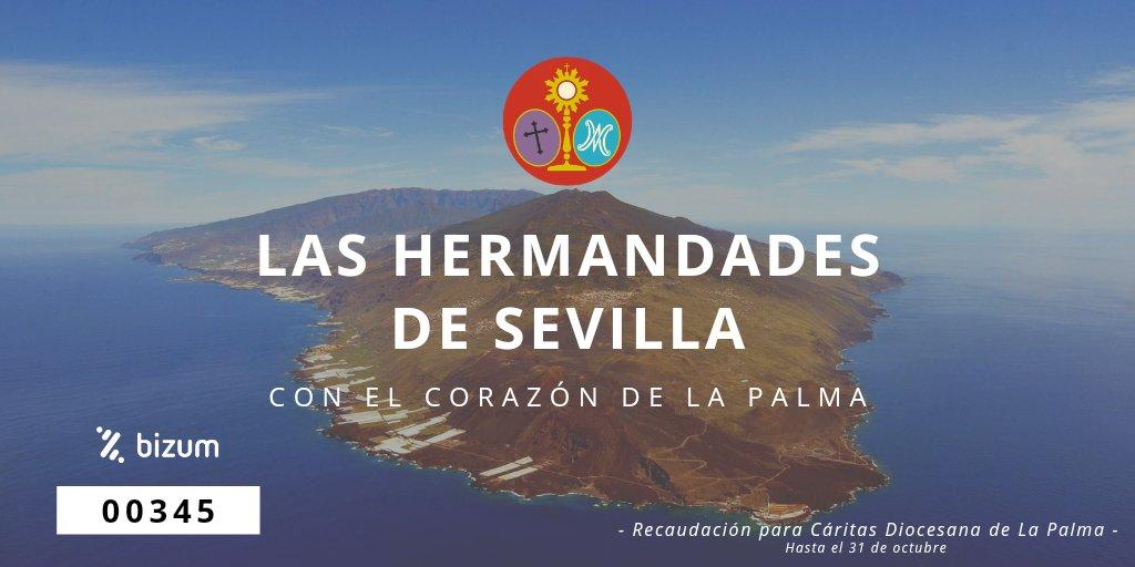 Las Hermandades de Sevilla con el corazón de la Palma